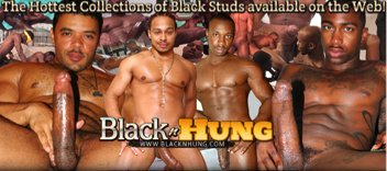 black hung men